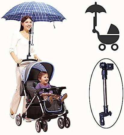 zantec Golf paraguas soporte paragüero de carrito de bebé para silla de ruedas bicicleta cochecito carrito cochecito de bebé