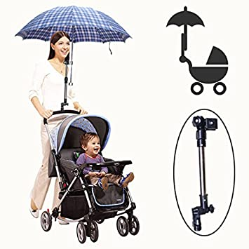 Golf Umbrella Holder Baby Trolley Umbrella Stand For Wheelchair Bike Buggy Cart Baby Pram