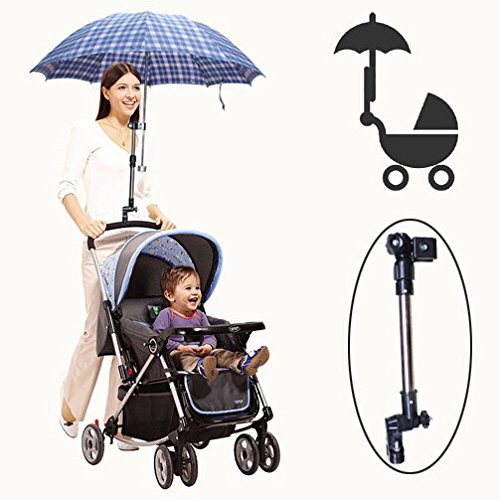 Amazon.com: Golf Umbrella Holder Baby Trolley Umbrella Stand For Wheelchair Bike Buggy Cart Baby Pram: Baby