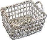 Provence Open Weave Wicker Utility Basket