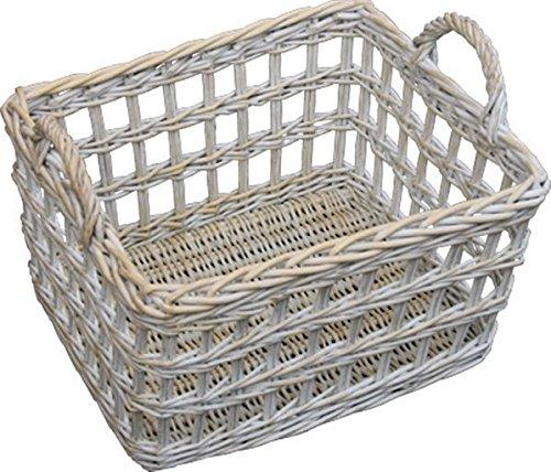 Provence Open Weave Wicker Utility Basket by Red Hamper