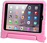 Evecase Kiddie-AIR-Mini-Pink - Funda para tablet Apple iPad Air (resistente a rayones, función soporte), rosa