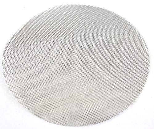 BVV 8 Inch Pre Cut Stainless Steel Mesh for Filter Plates 100 Mesh (150 Micron) by BEST VALUE VACS