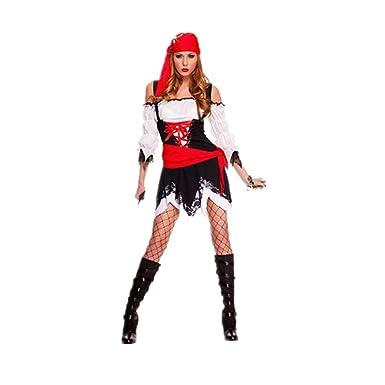 Amazon.com: Halloween Party Uniforme – Disfraz de pirata ...