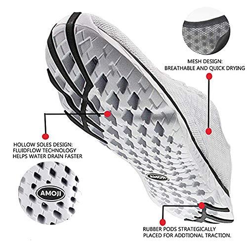 Amoji Sneakers Shoes Unisex Aqua White Athletic Water 8q0Fzpxn8