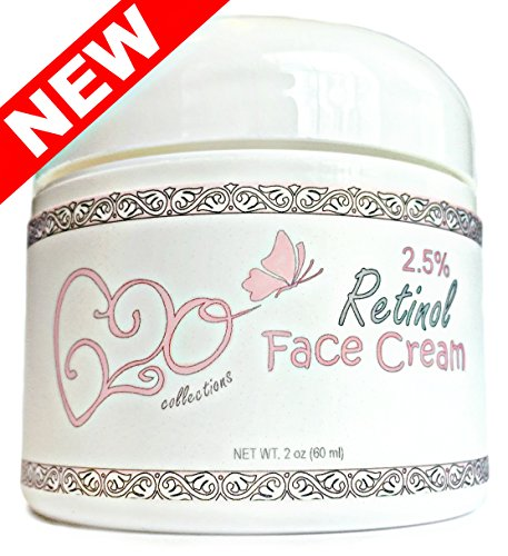 Retinol Face Cream (2 Ounce) 100% Natural, 71% Organic Unscented, 2.5% Retinol, Hyaluronic Acid, Vitamin E Moisturizer for Anti Aging, Wrinkles, All Skin Types, Vegan Ingredients, by 620 (Anti Aging Collection)