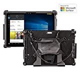 MobileDemand Microsoft Surface Pro 4 Premium Rugged Case [BLACK] Military Drop Tested Case