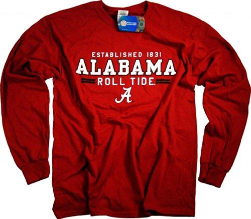 Alabama Crimson Tide Shirt T-Shirt Hoodie Hat Jersey Flag University Apparel XL