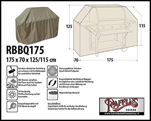 RBBQ175 BBQ Schutzhaube Grill Schutzhülle,Abdeckplane,Grillabdeckung, 175 cm