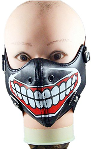 Qiu ping Men and women new ghoul show rock mask personality motorcycle by Qiu ping
