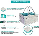 Ooki Baby Large Diaper Caddy - Minimalist Nursery