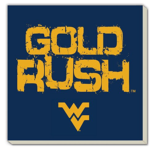 CounterArt Set of 4 Absorbent Coasters, West Virginia Gold Rush