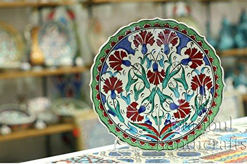 Iznik Design Ceramic Plate - 25 Cm/10 '' (Imperial Plate Of Persia compare prices)