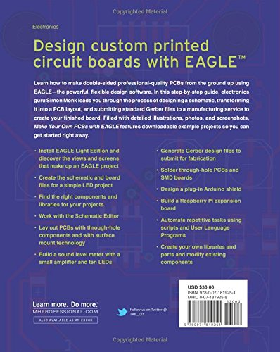 Buy Make Your Own PCBs with EAGLE: From Schematic Designs to ...
