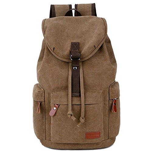d5a336a119 La Version coréenne du sac à dos fashion Trend sur toile double Sac à bandoulière  Sac et les loisirs pour homme High School étudiants Cartable sac de voyage  ...