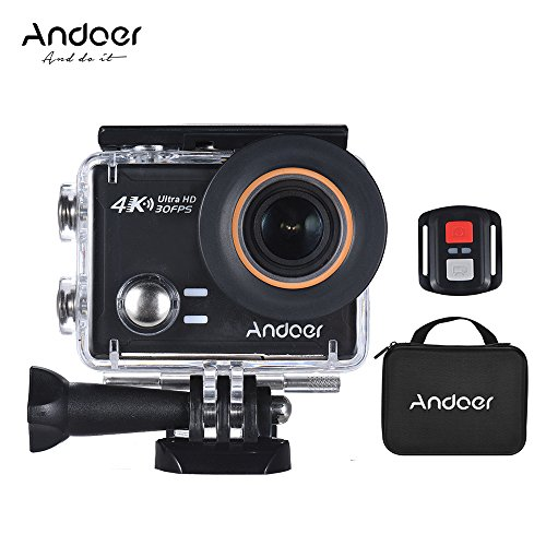 4K Action Camera, Andoer AN100 WIFI Sports Action Video Camera 30MP 1080P/120fps 2.0