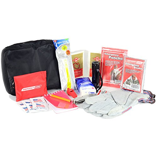 Basic Auto Safety Kit - Car Emergency Supplies - Automobile Preparedness
