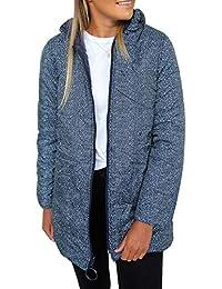 2019 Winter Women's Lightweight Jacket Water-Resistant Puffer Coat Zipped Up Leopard Outwear with Pockets