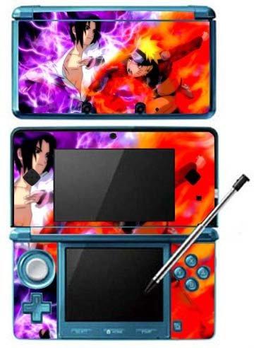 Amazon.com: Naruto Shippuden Game Skin for Nintendo 3DS ...