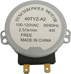 Amazon.com: ximoon microondas Turntable Motor para Sharp ...
