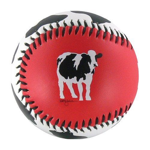 Cow Spots w/ Cow T-Ball (Rubber Core) B00IDHF1VA