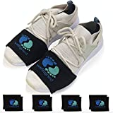 Welligned Dance Socks Over Sneakers - 4 Pairs of