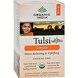 ORGANIC INDIA TULSI TEA,OG2,GINGER, 18 BAG