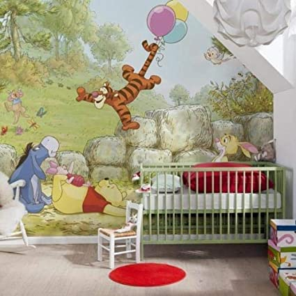 Wandtattoos Wandbilder Fototapete Kinderzimmer Disney Winnie The Pooh Wandbild Babyzimmer Tapete Puuh Mobel Wohnen Elin Pens Ac Id