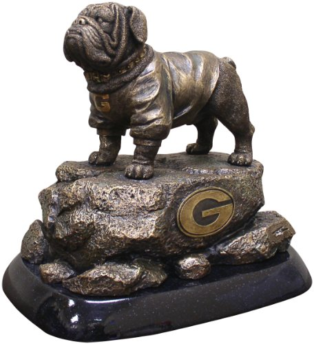 Wild Sports NCAA College Georgia Bulldogs Desktop Statue