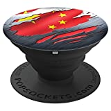 CHINA Chinese Flag %2D PopSockets Grip a