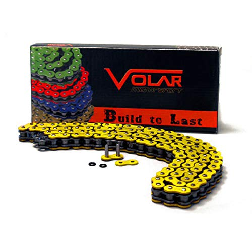 Volar O-Ring Chain Yellow for 1987-1988 Yamaha Warrior 350 YFM350X