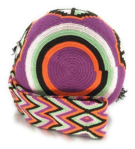 tribaux à main colombiens pour hommes Wayuu motifs les Villavicencio Sac les à la des sacs dos et STYLE femmes fois à COLOMBIAN avec E04q77