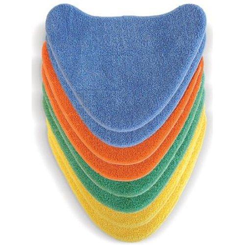 Typ 1 8/St/ück Vax Total Home Klett-Mikrofaser-Mehrfarben-Reinigungspads