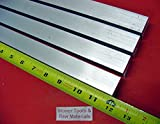4 Pieces 1' X 1' ALUMINUM 6061 SQUARE BAR 12' long T6511 Solid New Mill Stock