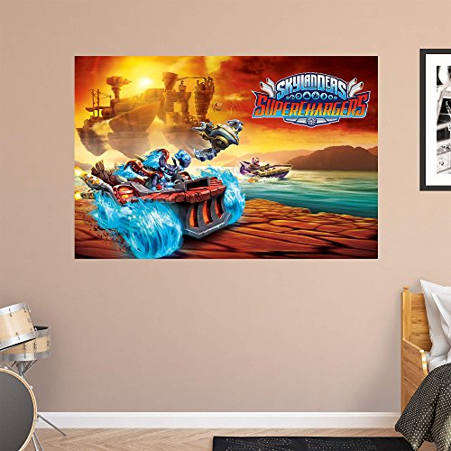 Activision Skylanders Superchargers Full Speed Ahead Realbig Mural