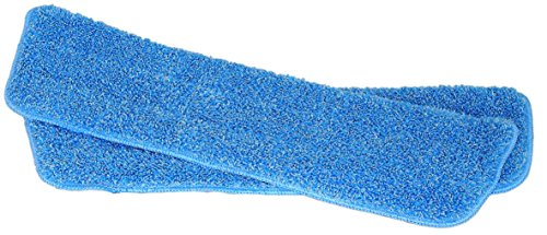 Super Absorbent Microfiber Mop Replacement Pad Commercial Grade Velcro Type Washable Reuseable- 2 Pack. (Grease Absorbent Pads compare prices)