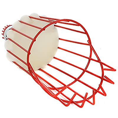 Home-X Fruit Picker Harvester Basket with Cushion to Prevent Bruising (Pole not Included) : Garden & Outdoor