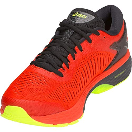 ASICS Gel-Kayano 25 Men's Running Shoe, Cherry Tomato/Black, 7.5 D US by ASICS (Image #2)