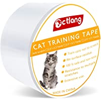 Goolsky Anti-Scratch Cat Training Tape Furniture Sofa Protection Adhesive Tape Pet Accessories Stops Cats from Scratching Furniture/Couch/Chair/Sofa and Door