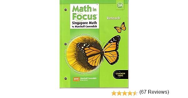 Amazon.com: Math in Focus: Singapore Math: Reteach Workbook Grade ...