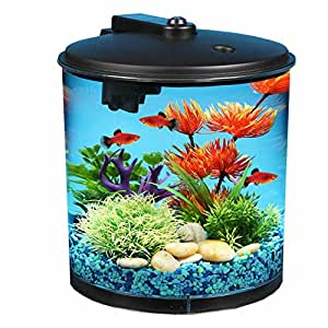 Aquaview 2 gallon 360 fish tank with power for 30 gallon fish tank walmart