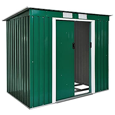 Metal Shed with Foundation 6x4