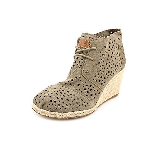 bb4775d094a Toms Womens Desert Wedges Taupe Moroccan Cutout - Buy Online in Kuwait.