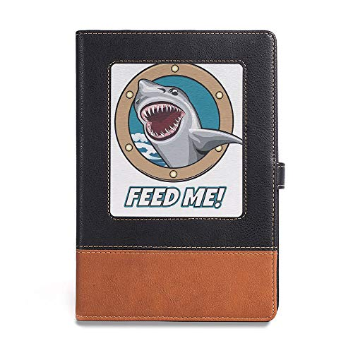 (Durable Journal Writing Notebook,Sea Animal Decor,A5(6.1