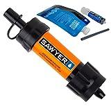 Sawyer Products SP103 Mini Water Filtration System, Single, Orange