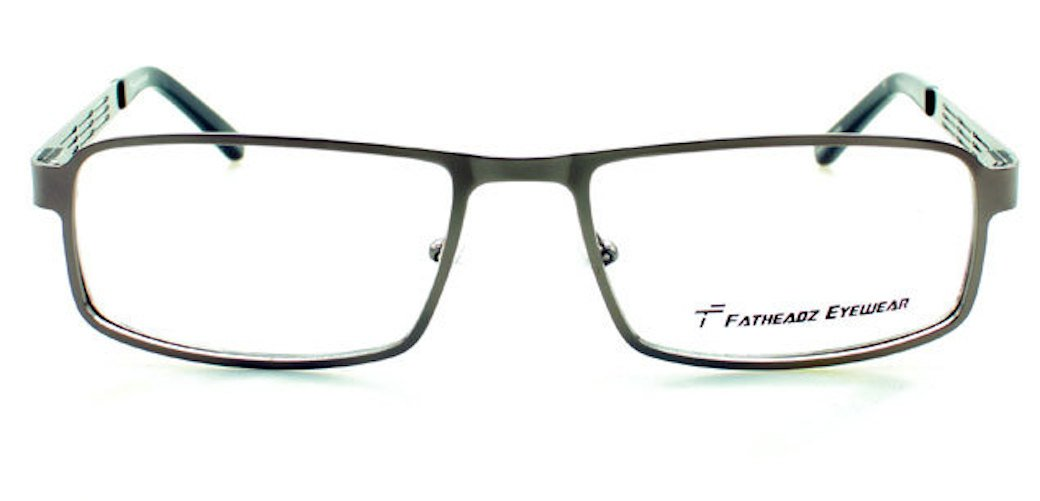 4b13288413 Amazon.com  Fatheadz Preferred Stock Dividend XL FB00198 Silver Oversized  Metal Mens Eyeglasses  Health   Personal Care