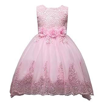 Happy Cherry - Falda Vestido de Ceremonia Bautizo para