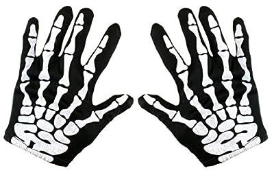 Kangaroo's Halloween Accessories - Skeleton Gloves by Kangaroo Manufacturing