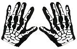 Kangaroos Halloween Accessories - Skeleton Gloves