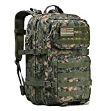 Military-Tactical-Backpack-Large-Army-3-Day-Assault-Pack-Molle-Bug-Out-Bag-Backpack-Rucksacks-for-Outdoor-Hunting-Hiking-Camping-Trekking-Woodland-Digital-Camouflage